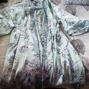 Victoria Secret dream Angels floral robe kimono